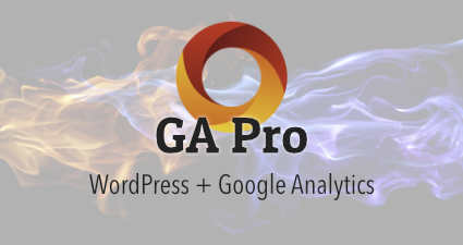 [ WordPress Plugin: GA Google Analytics Pro ]