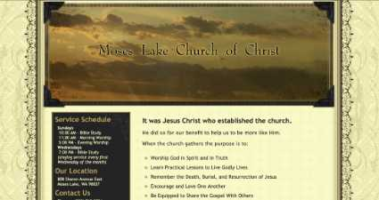 [ Moses Lake Church of Christ ]