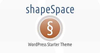 [ shapeSpace WordPress Theme Template ]